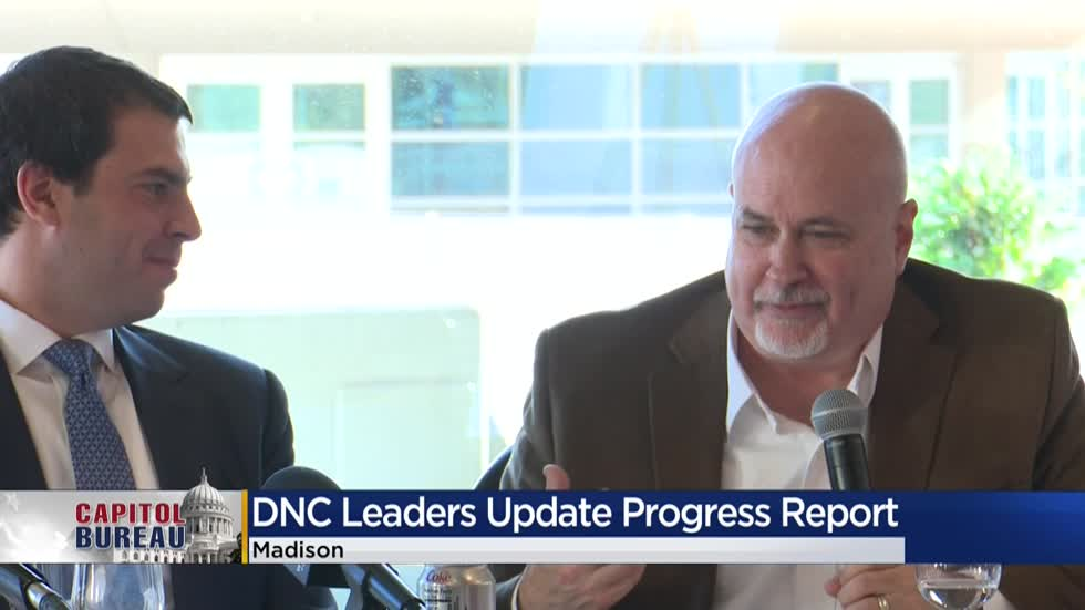 DNC leaders share update on convention progress