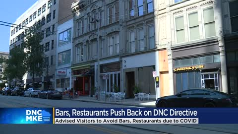 DNC Committee asking attendees to avoid Milwaukee bars, restaurants...