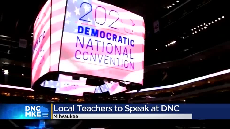 Two Milwaukee educators on the list of speakers for DNC