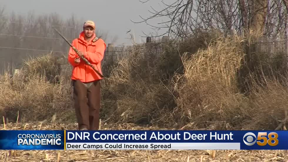 Wisconsin DNR urges deer hunters to take COVID precautions