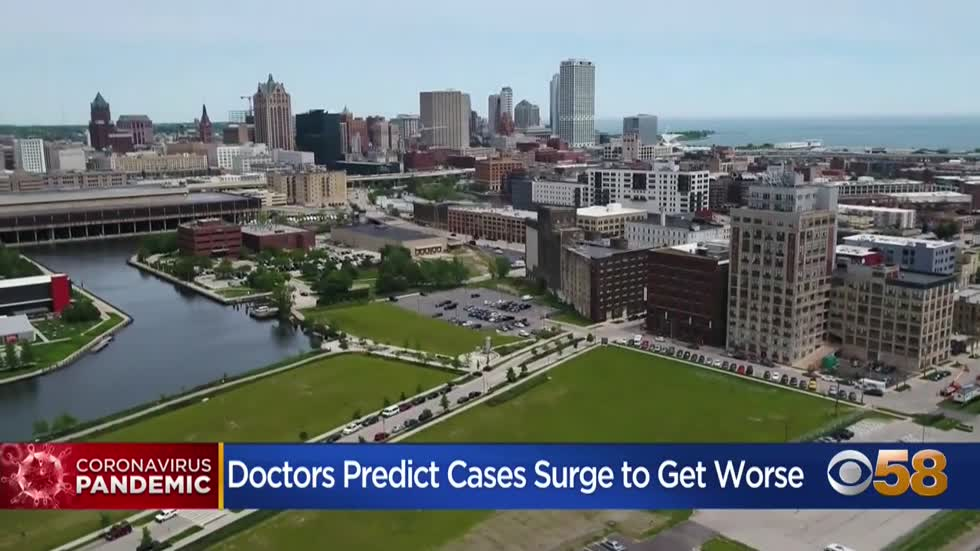 Researchers project COVID-19 case increase in nearly every WI county through October