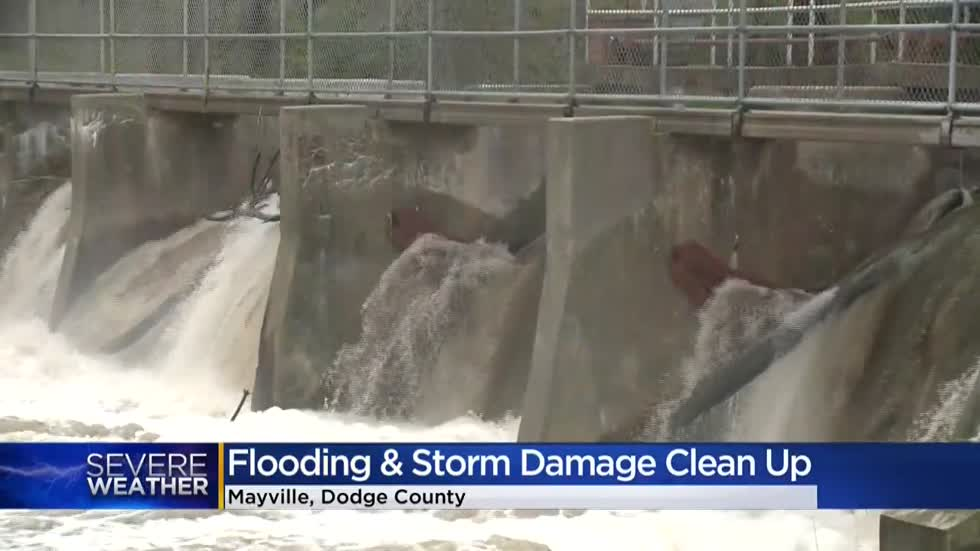 Record rainfall ravages Dodge County