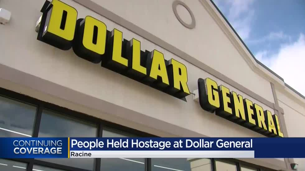 Racine man accused of holding 10 people hostage inside Dollar General store