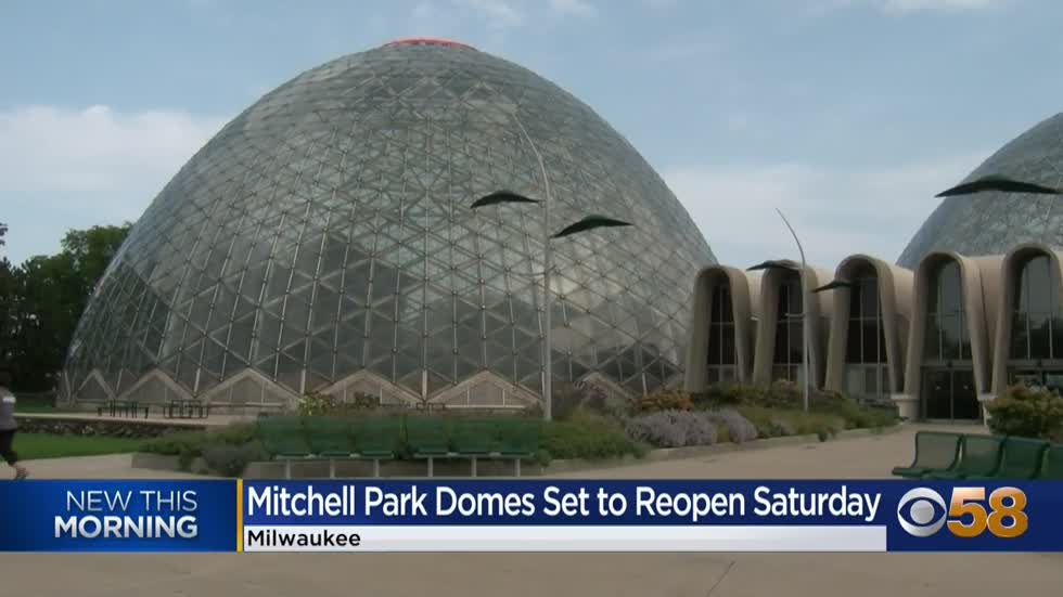 Three cheers for the three domes reopening at Mitchell Park this...