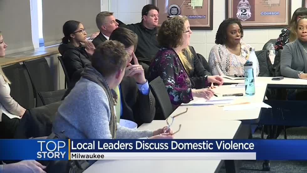 'We have a severe problem:' Milwaukee leaders hold roundtable discussion on domestic violence