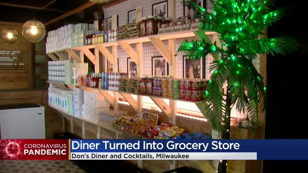 Don's Diner & Cocktails turns into grocery store amid COVID-19 pandemic