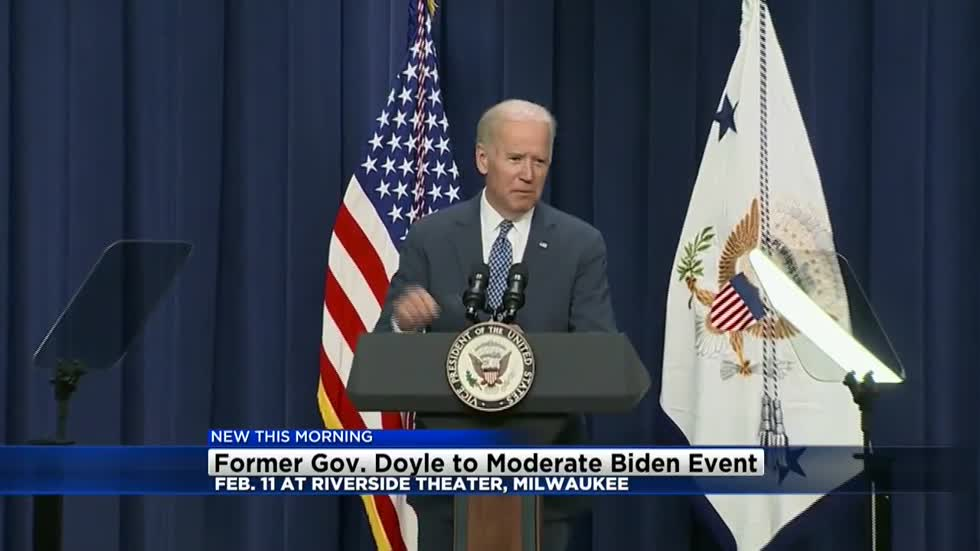 Governor Jim Doyle added as moderator to Vice President Joe Biden's tour
