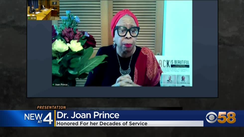 Milwaukee declares day of honor for Dr. Joan Prince, leader for...
