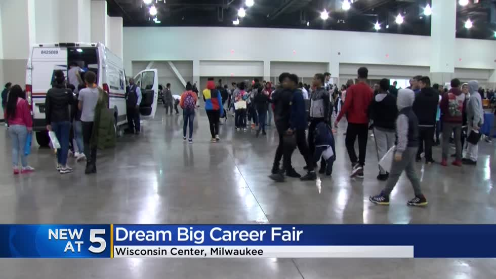 MPS hosts 'Dream Big Career Fair' for 8th graders