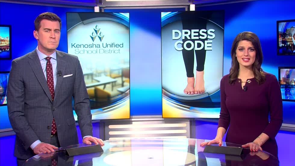 "Some Kenosha Unified School District students say dress code is ""sexist"""