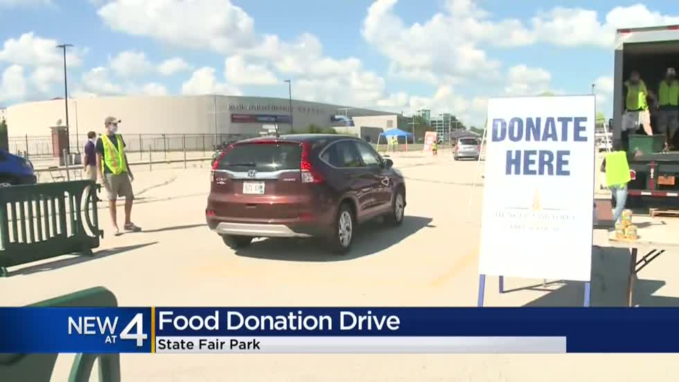 Hunger Task Force gets help from State Fair with special, one-time food drive