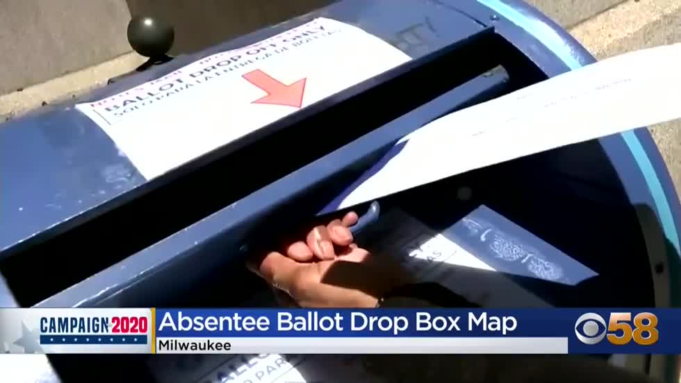Milwaukee father creates public map to help voters find absentee ballot drop box sites