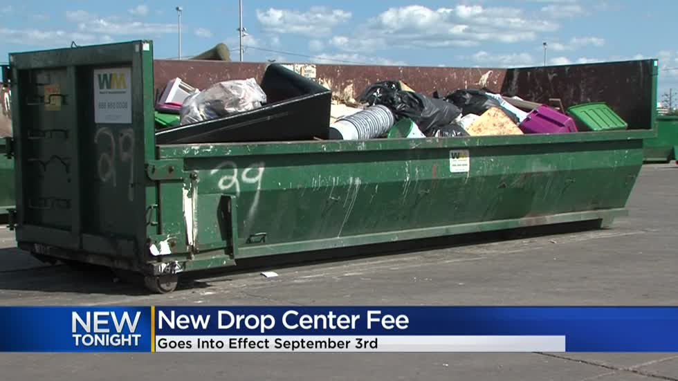 Milwaukee drop centers will soon charge a fee for 'sizable items'