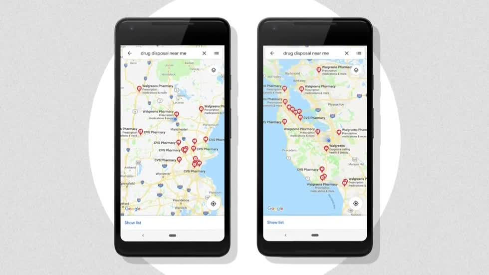 Amid opioid crisis, Google Maps will show where to dispose drugs