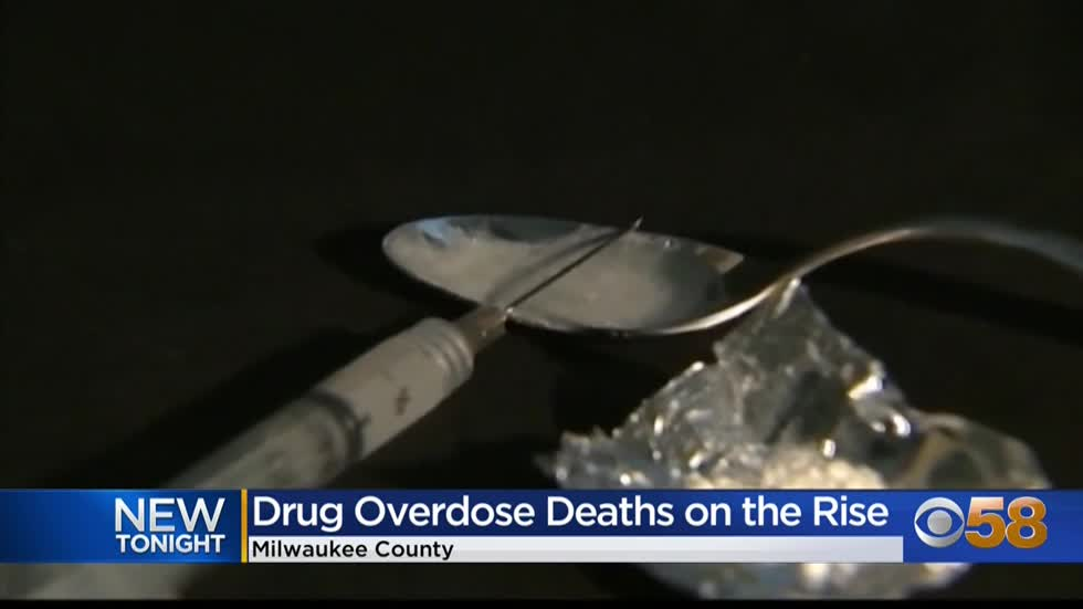Drug overdose deaths continue to climb in Milwaukee County