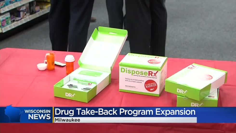 Starting in 2020, All CVS Pharmacy locations in Wisconsin will have drug disposal options