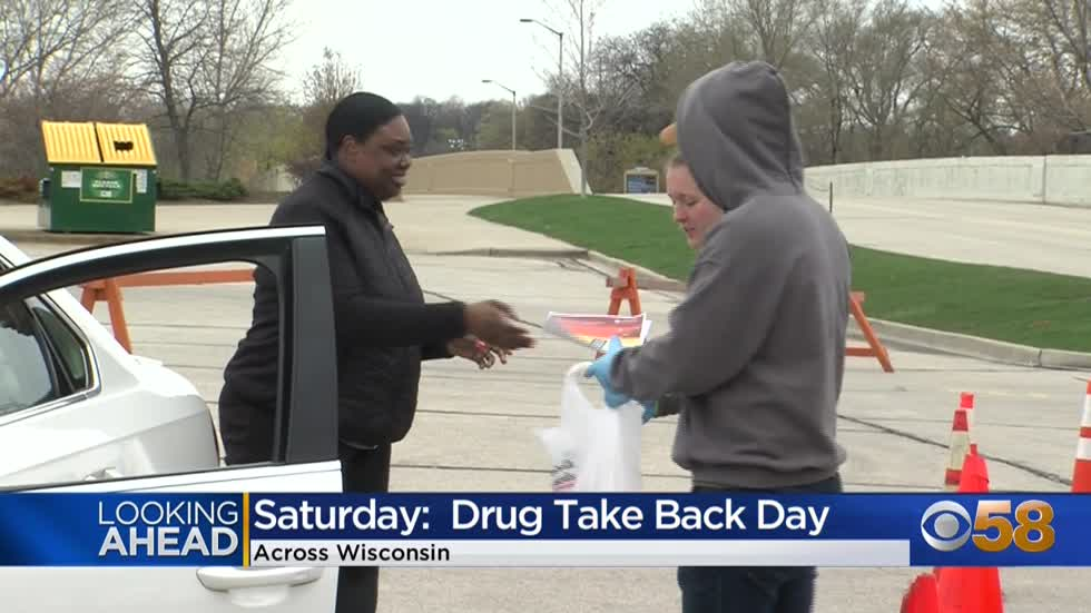 Drug Take Back Day is this Saturday, April 24 -- here's where...