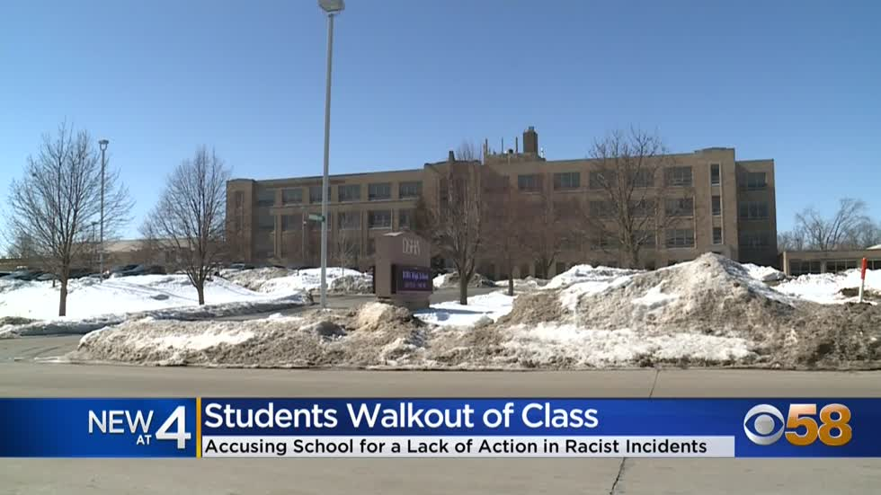 Divine Savior Holy Angels students stage walkout after video...