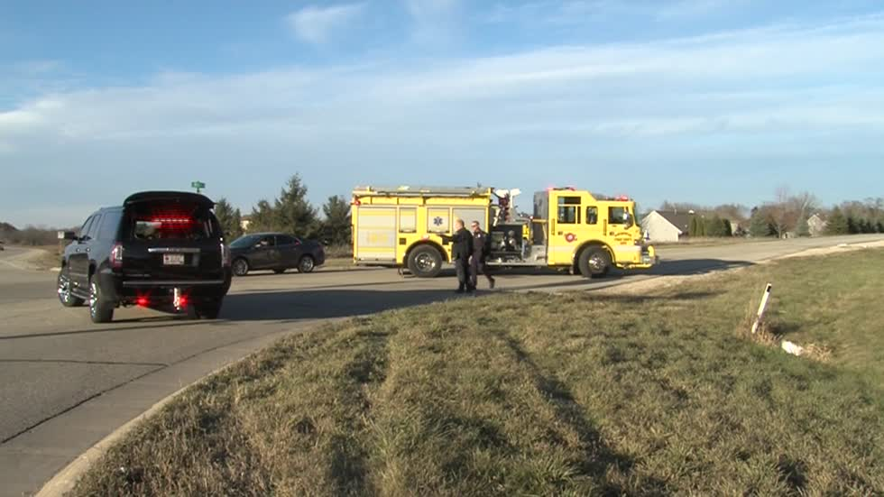 Ambulance crashes after responding to wounded hunter in Waukesha County
