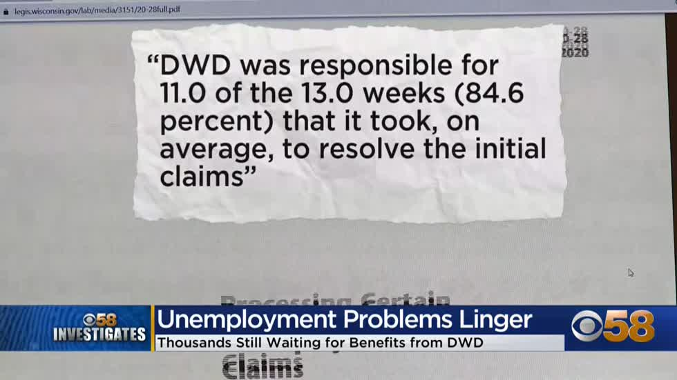 Audit finds Wisconsin Dept. of Workforce Development to blame for delays in unemployment payments