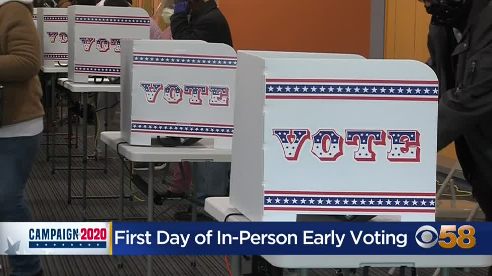Here are the 14 locations and times for early voting in Milwaukee