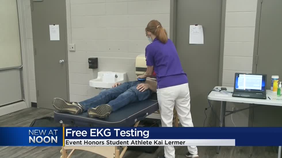 Waukesha teens receive EKG screenings in memory of classmate Kai Lermer