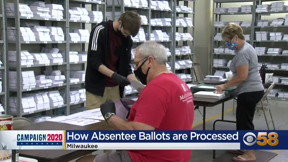 'Hundreds of hours of work:' An inside look at the Milwaukee Election Commission warehouse