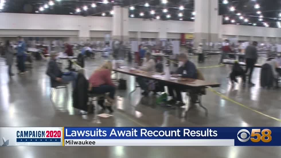 Republicans file lawsuit to block certifying Wisconsin election...