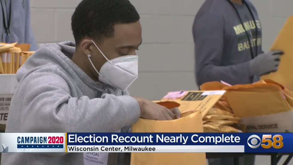 Milwaukee County recount complete; 'the most transparent process'