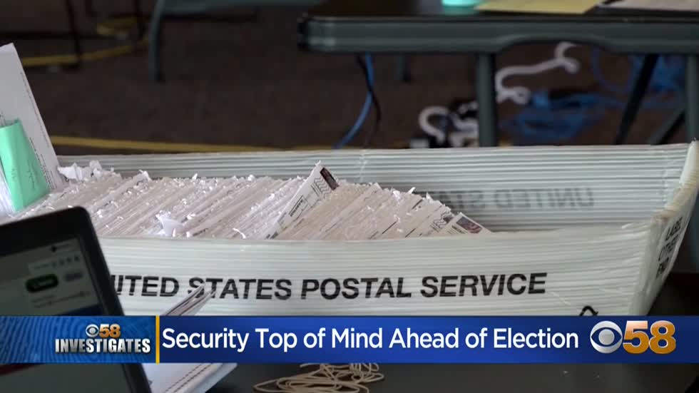 Wisconsin election security