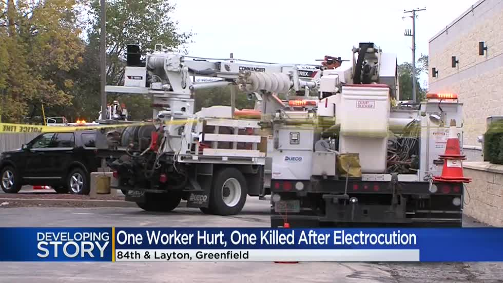 Man dead, another hurt after being electrocuted near 84th and Layton in Greenfield