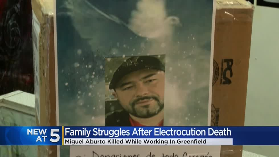 Fundraiser started for family of man fatally electrocuted while on the job