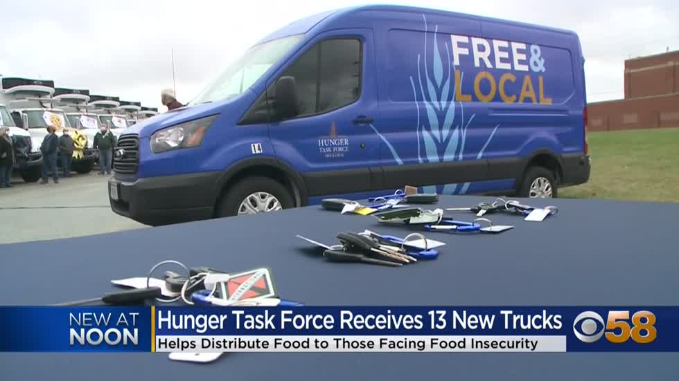 13 Wisconsin emergency food partners receive new transport trucks