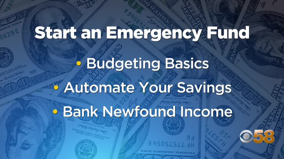 Financial planner offers advice for creating emergency fund