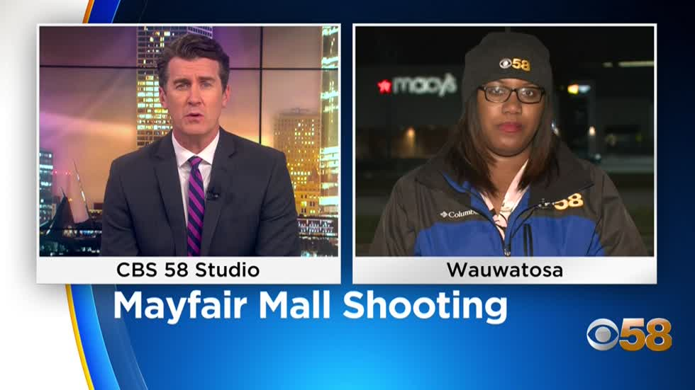 ''I let the one gentleman in, pulled him to the back of the store:' Mayfair Mall employee helps shooting victim