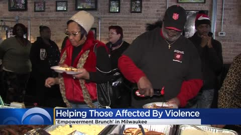 Milwaukee 'empowerment brunch' supports those affected by gun violence