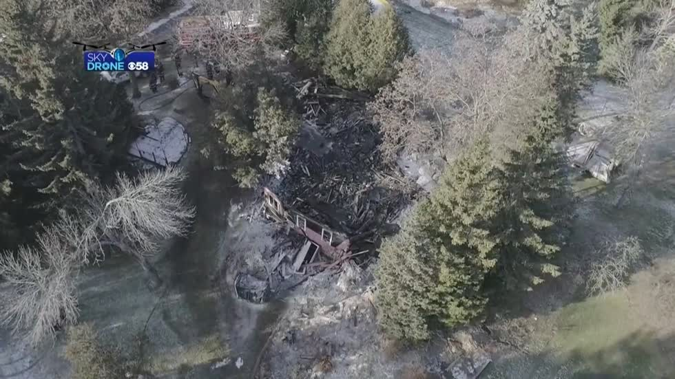 Town of Erin home considered total loss after fire