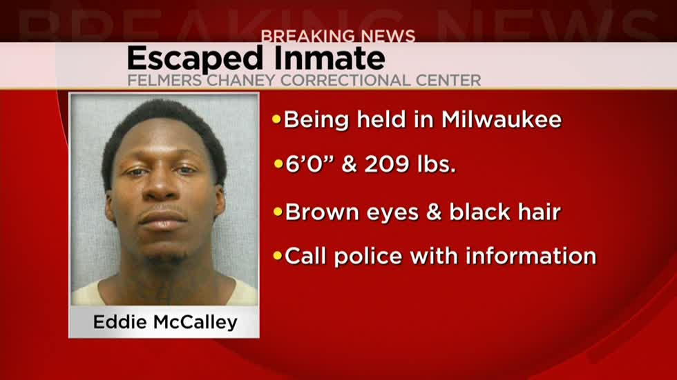 Milwaukee County authorities searching for escaped minimum security inmate