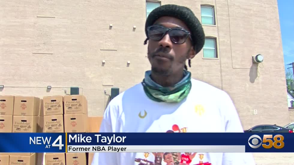 Former NBA player Mike Taylor teams up with Alderman Stamper...
