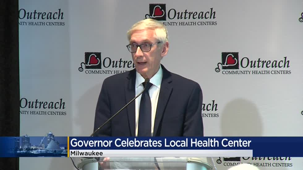 Evers joins Outreach Community Health Centers to celebrate 35 years of service