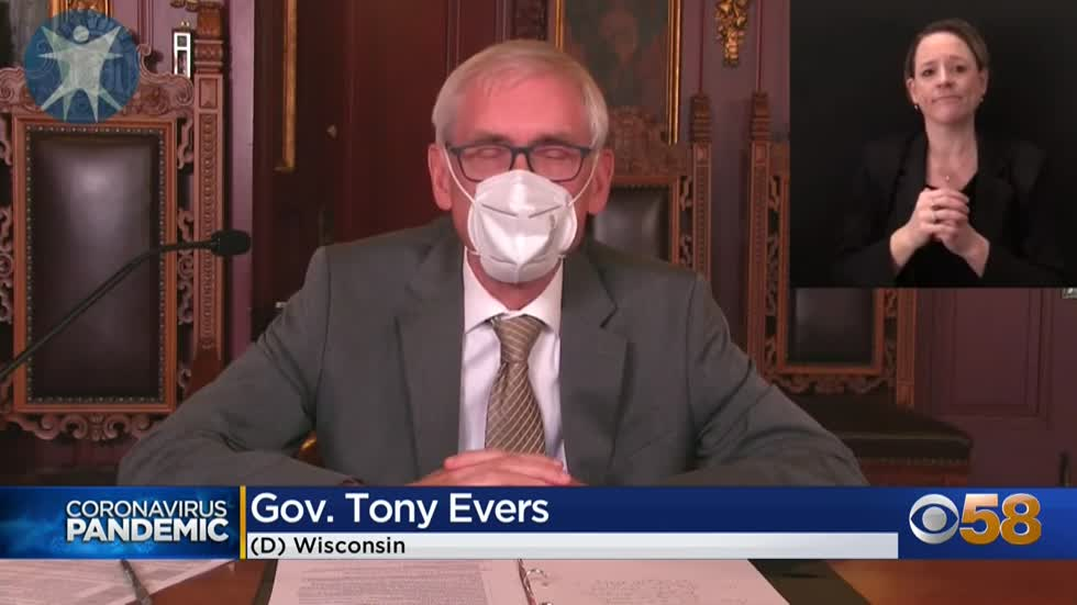 Gov. Evers to declare new health emergency, extend mask mandate while powers, legislative efforts are in hands of conservatives