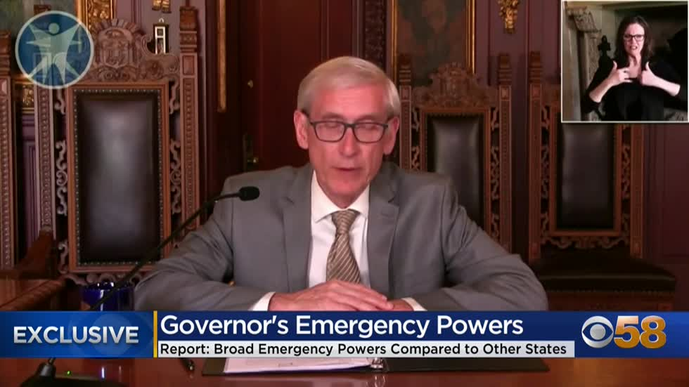 Wisconsin operating with no limits on Evers' emergency orders;...