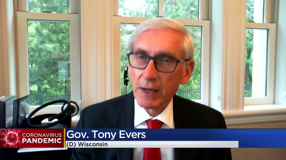 Gov. Evers announces $1 billion statewide effort to boost testing, contact tracing and other actions to address COVID-19