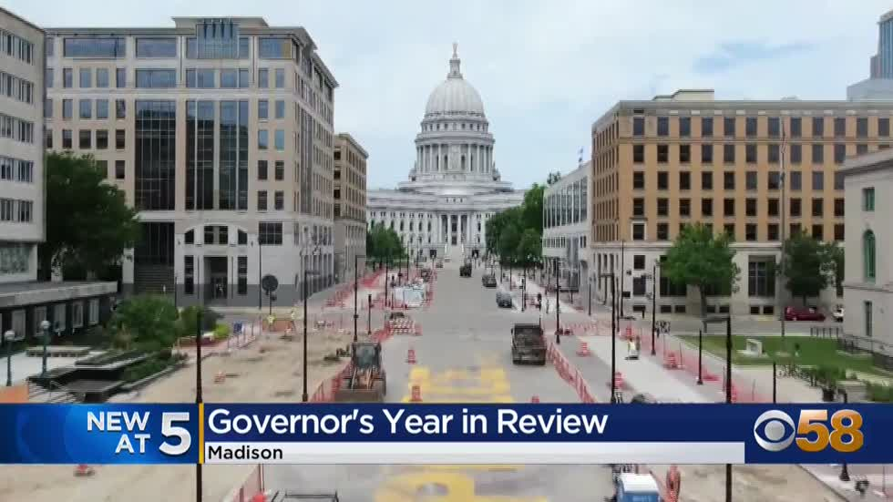 Gov. Evers reflects on 2020, looks ahead to challenges in 2021
