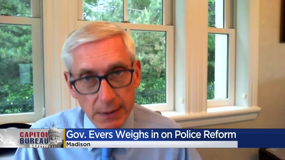Evers on state, national and global protests: 'Never witnessed anything like this'
