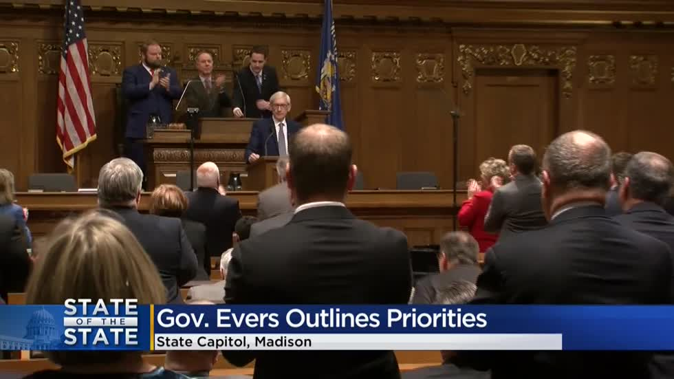 Gov. Tony Evers calls for special session to tackle farm crisis during State of the State address