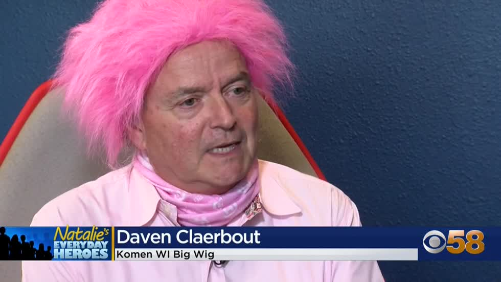Natalie's Everyday Heroes: BigWigs Daven Claerbout & Georgette Retzer raise money for Komen Wisconsin