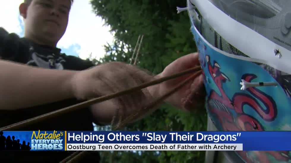 Natalie's Everyday Heroes: Wyatt Kauth creates Worldwide Dragon Shooting Day to slay his grief