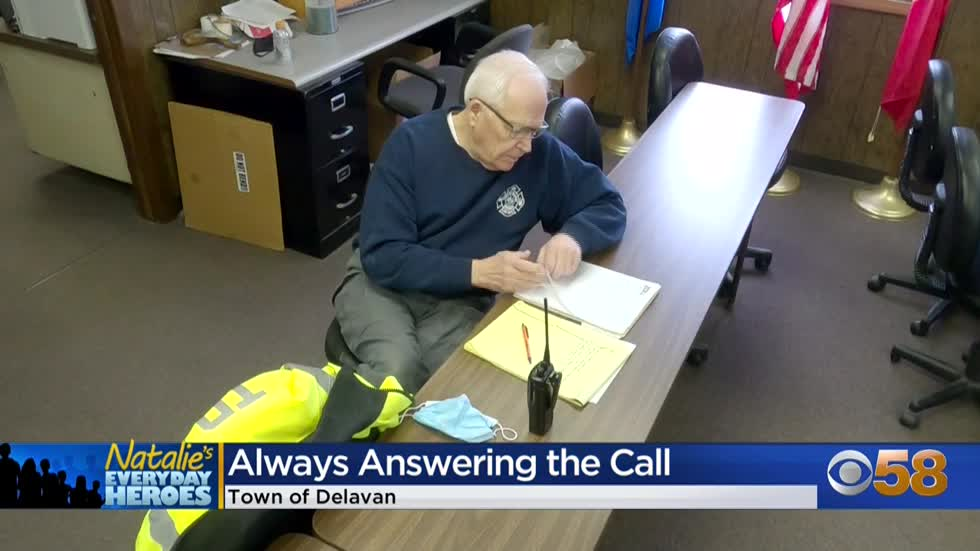 Natalie's Everyday Heroes: Town of Delavan Rescue Squad Chief Larry Lester