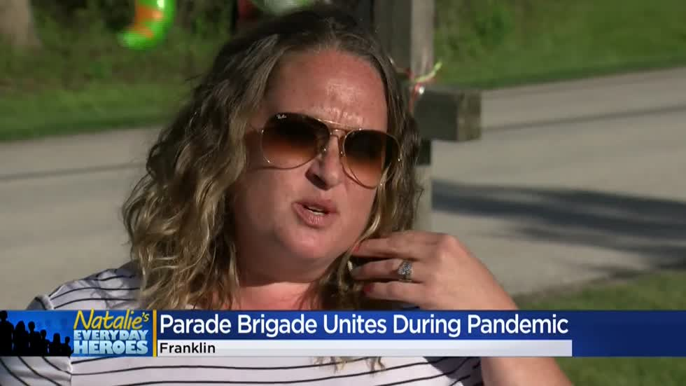Natalie's Everyday Heroes: Melissa Ferguson, creator of Franklin Community Parade Brigade